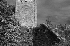 Burgrunine in Kroatien