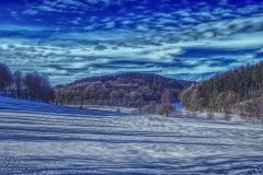 Blick über das Brechtpetal im Winter