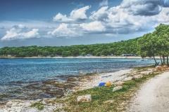 Küstenabschnitt in Kroatien