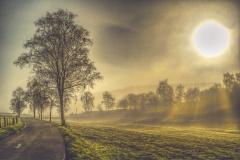 Sonnenaufgang im Brachtpetal