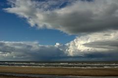 Gewitteraufzug über der Nordsee